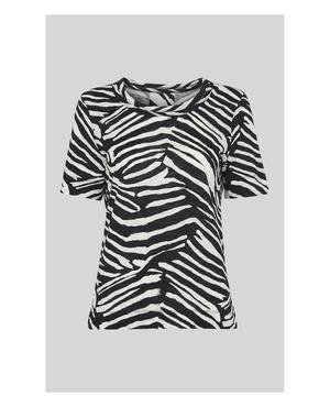 13c0e10b36ef7 Whistles Animal Print T-shirts   Endource