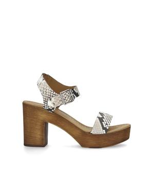 0f8e85a42 Roro Snake Print Block Heel Sandals by KG Kurt Geiger