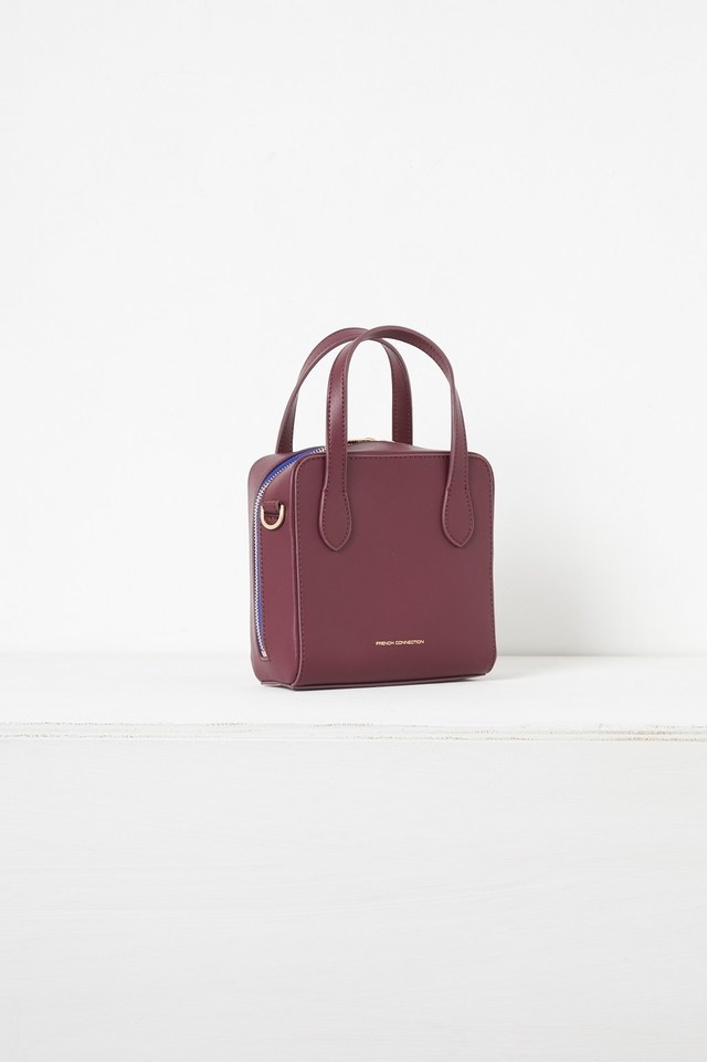 Lula Mini Square Recycled Leather