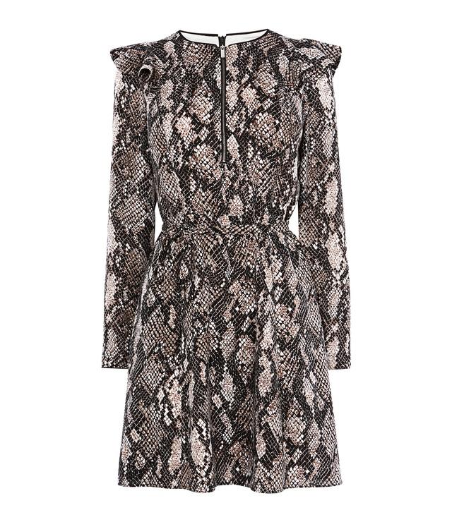Snakeskin Print Dress Endource