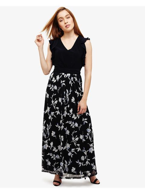 f4f8ccbb1be Loretta Floral Lace Maxi Dress
