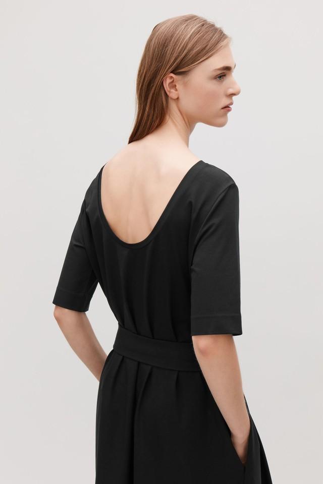 2ad68cf059 Long A-line Jersey Dress