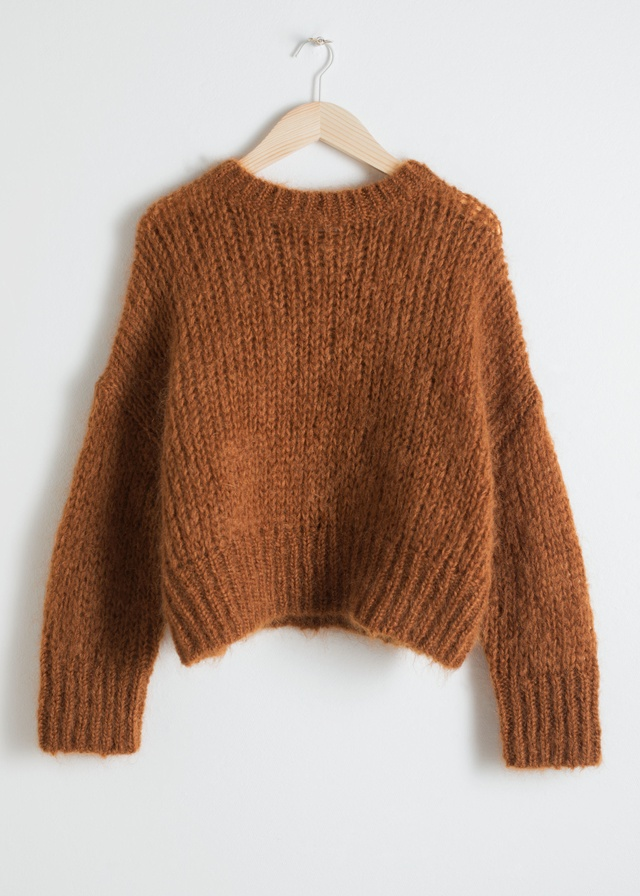wool blend chunky knit sweater endource