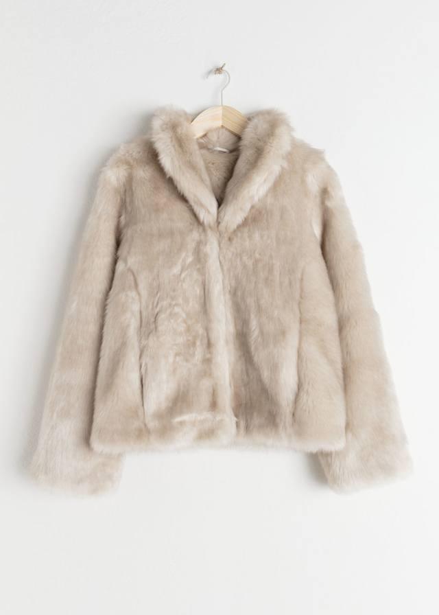 2d7449dd Short Faux Fur Jacket | Endource