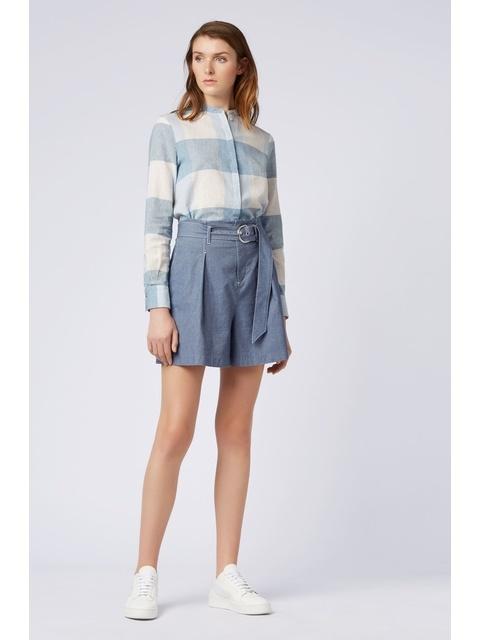 b9438a25a High-waisted Denim-look Shorts | Endource