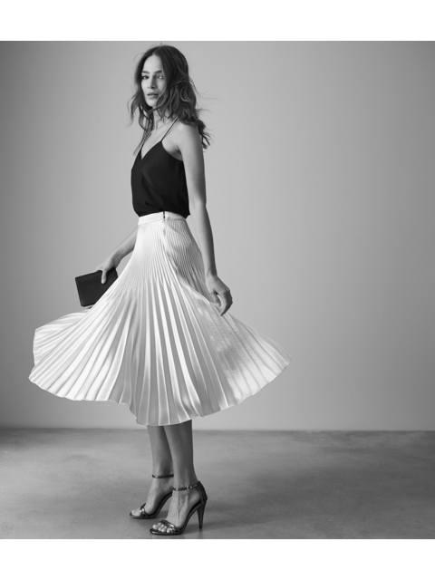 e84cc95b1 Isidora Knife Pleat Skirt | Endource