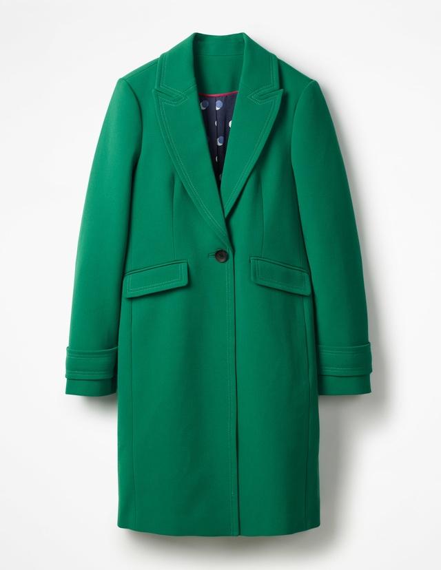 Aileen coat endource for Boden yellow raincoat