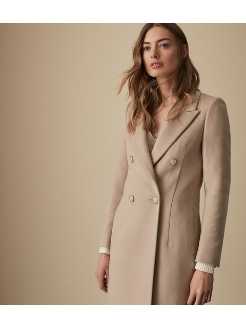 ad95042f4d0 Heston Longline Double Breasted Coat