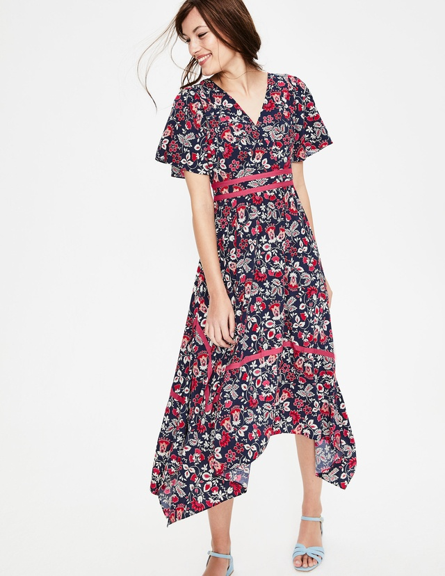 4f458d43d5e8 Holly Hanky Hem Midi Dress | Endource