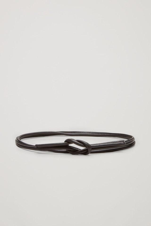 tie up leather belt endource