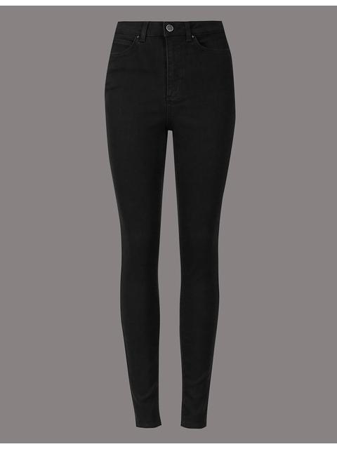 a2ef3e10a5d1c5 High Waist Skinny Leg Jeans   Endource