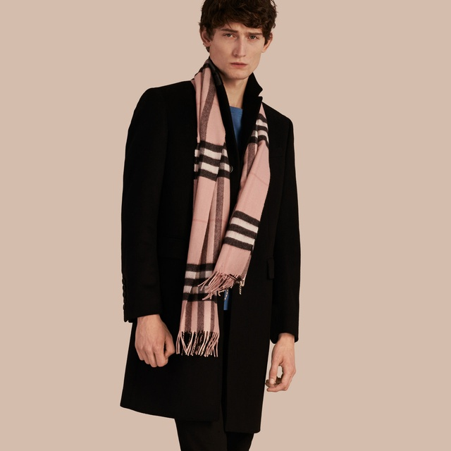 bad604630187 Classic Heritage Check Cashmere Scarf