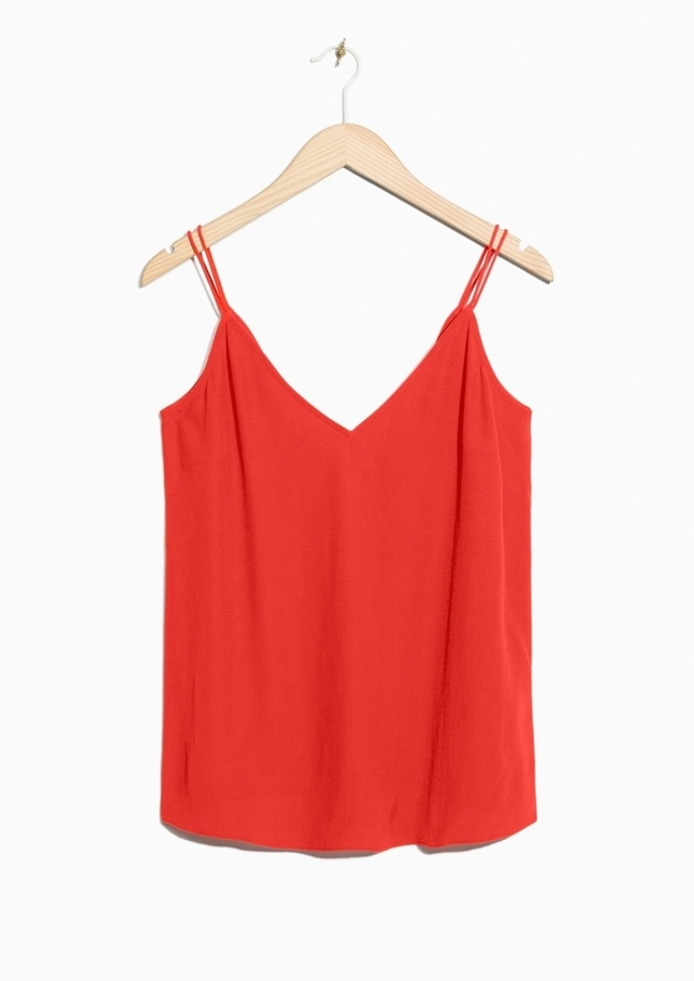 Outlet Brand New Unisex Cheap Price Pre Order & OTHER STORIES V-Neck Crop Top d0G03VOH