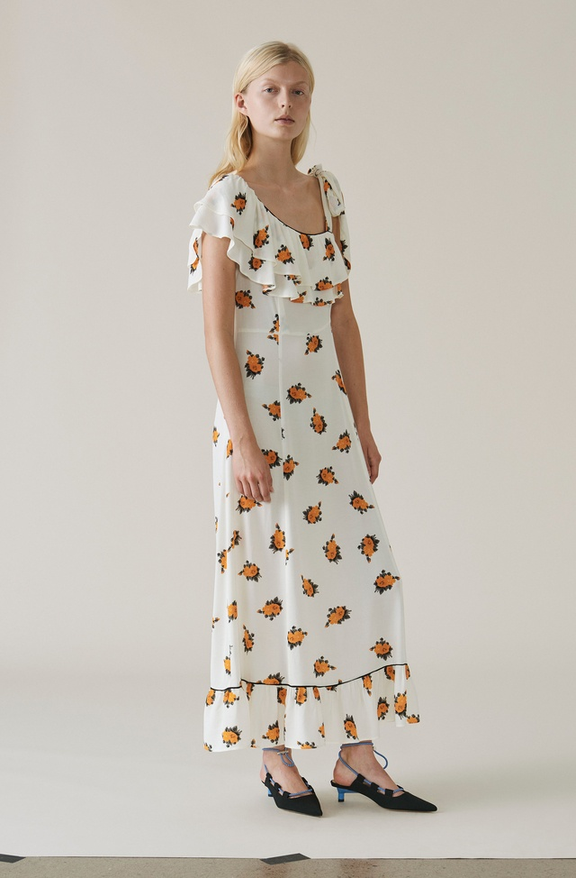 2c6b0729bc9 Roseburg Crepe Maxi Dress