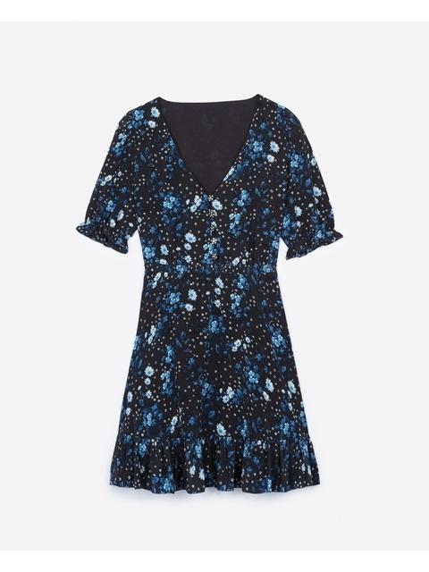 Dress Flowers Silk Jazz PrintEndource With fYgb6v7y