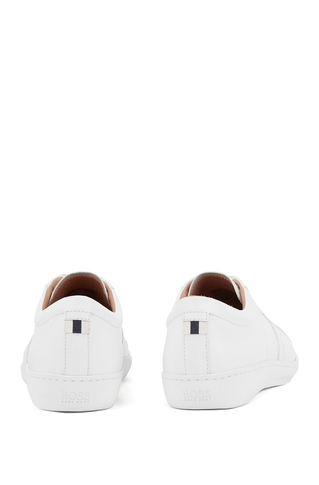 4c584087e9c Calf Leather Low-top Trainers | Endource