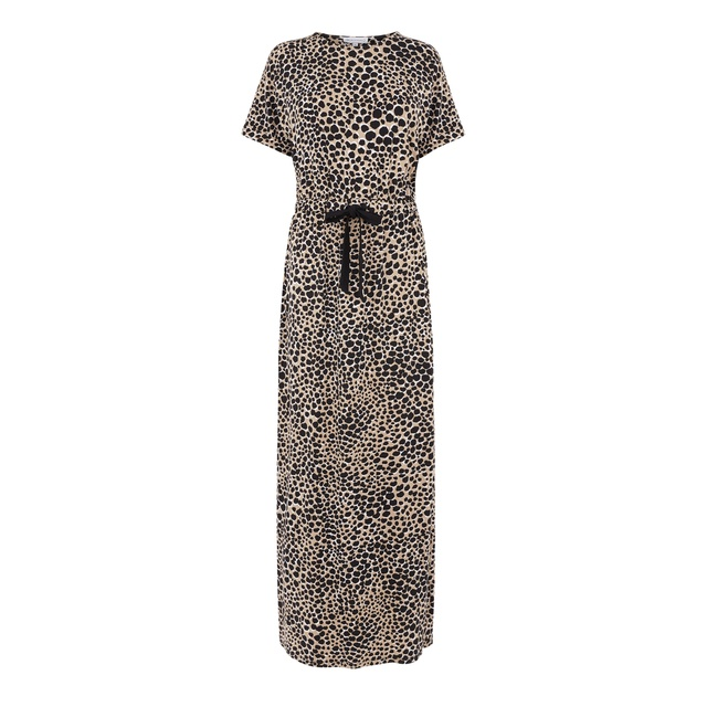 aa1a9d6e2be Cheetah Print Maxi Dress
