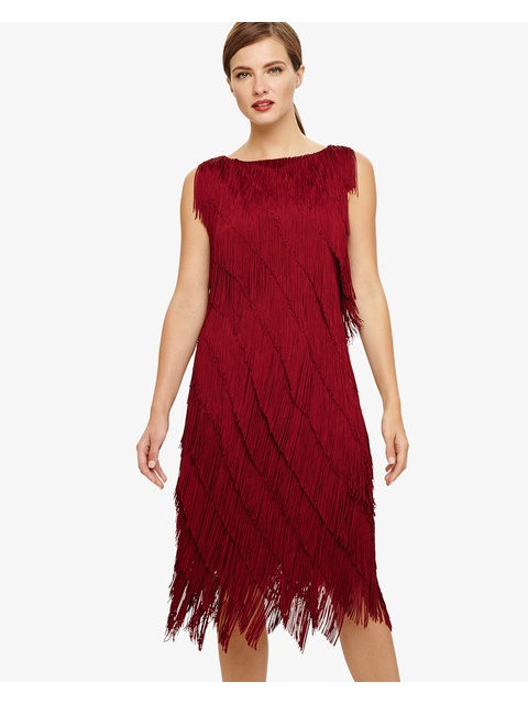 kacy fringe dress endource