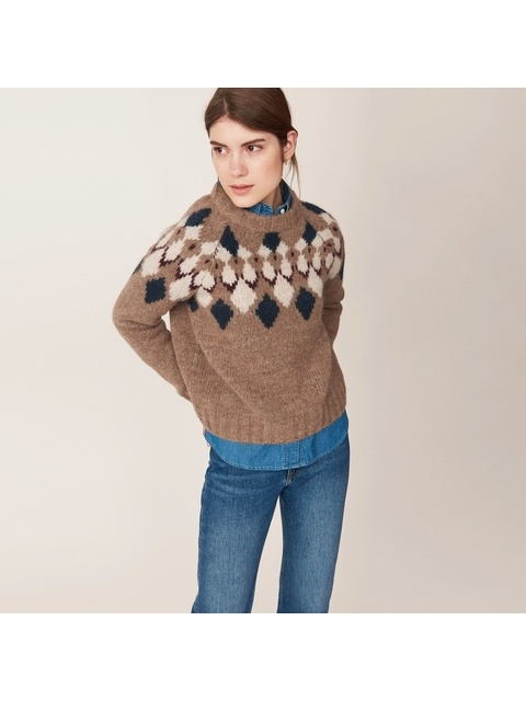 eacb51f97 Cozy Fair Isle Sweater