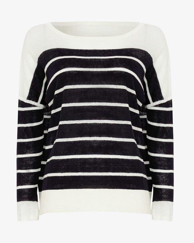 Lindsey Linen Stripe Knit | Endource on