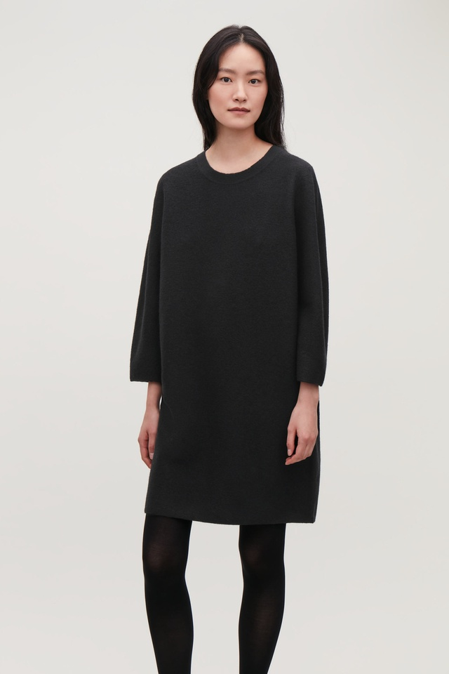 6646ef0575c Boiled Wool Jumper Dress
