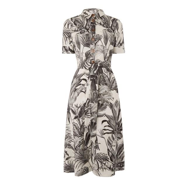 Tropical Print Dresses