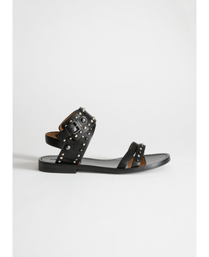 f2832c69545 Studded Cross Strap Sandals by   Other Stories