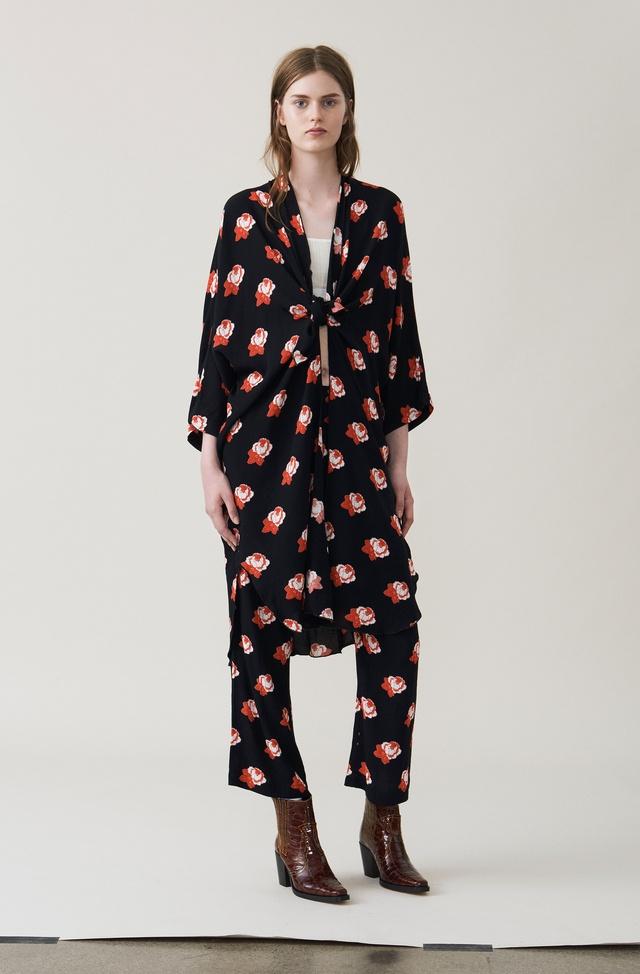 dfd24a3f4b05 Harley Crepe Kimono Dress