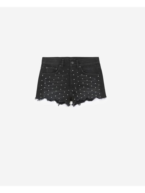 8eb2793589 Studded Denim Shorts | Endource