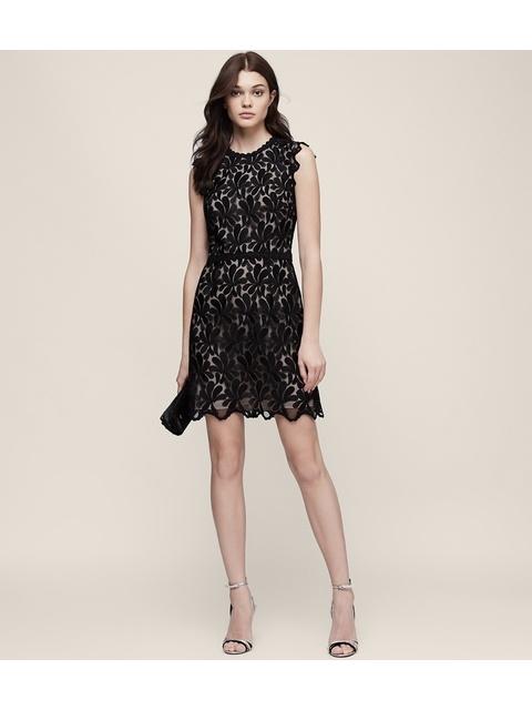 c32caceb1b9 Sami Lace Open-Back Dress