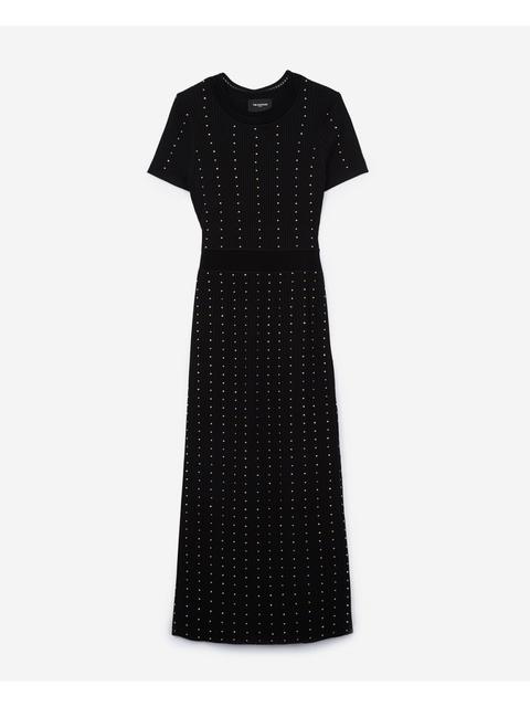 24a56b69f5 Long Knit Dress | Endource