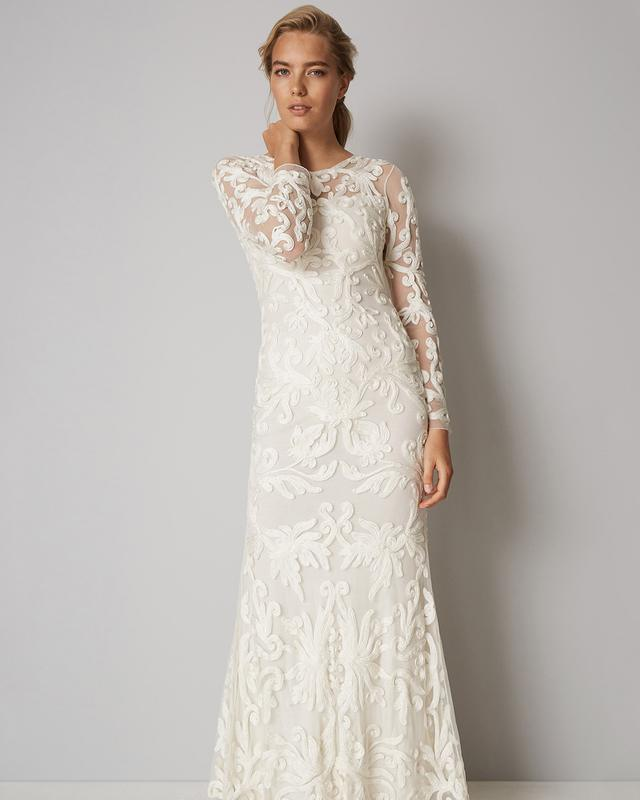 Aubrina Tapework Wedding Dress