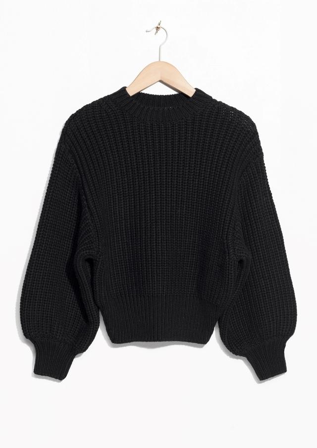 defc11531b Chunky Rib Knit Sweater