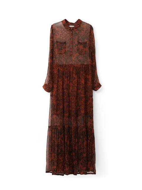 653ca5b90710 Beaumont Chiffon Maxi Dress
