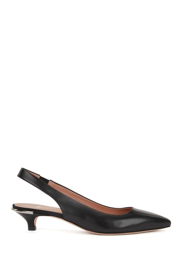 Perfect Cheap Online Patent calf-leather ballerina pumps with asymmetric strap BOSS Fast Delivery Cheap Online jsPFi