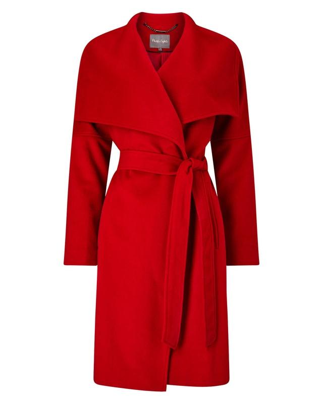 Bruna Belted Coat Endource