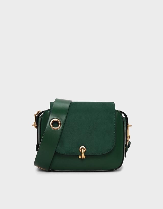 aad66e87a79d Grommet Detail Strap Bag