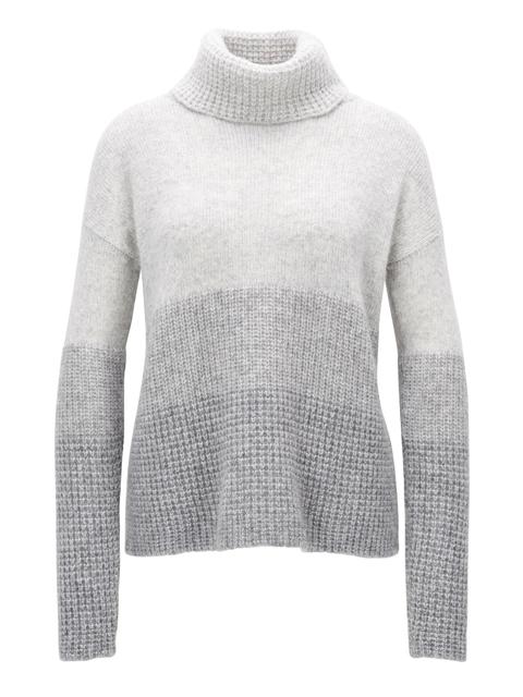 cb566ee71 Colourblock Roll-neck Sweater   Endource