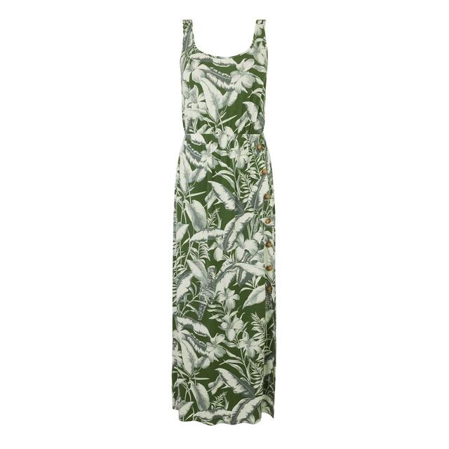 99ba2e6905 Tropical Parrot Maxi Dress