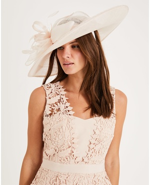 7749b3cb Trudy Large Disc Fascinator by Phase Eight