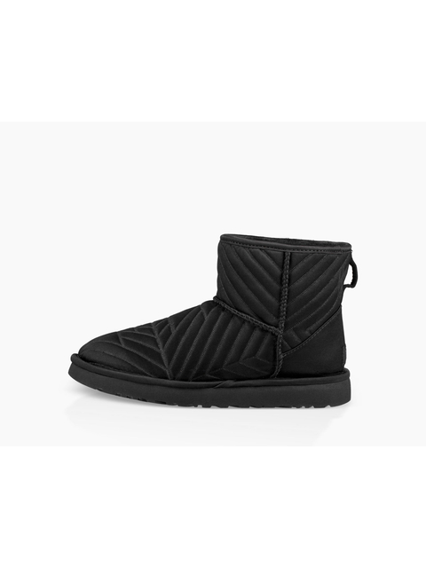 Classic Mini Quilted Satin Boot Endource