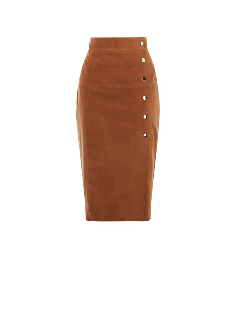 b6e641373 Suede Pencil Skirt | Endource