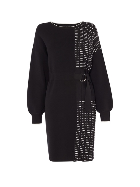 a90e932b0c3 Half-Pleated Jumper Dress