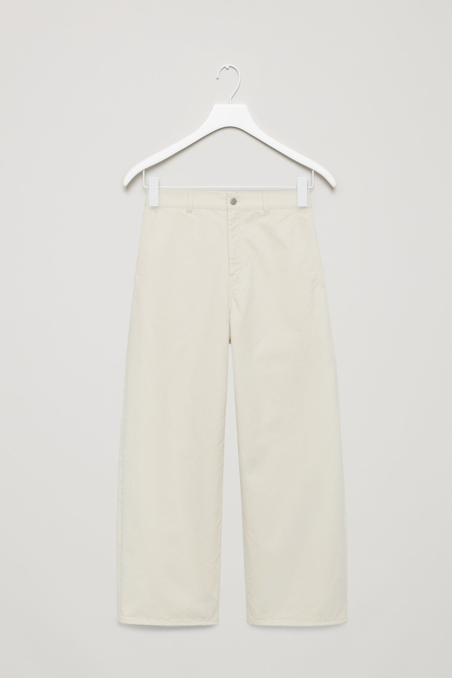 46280921ebc0 Curved Wide-Leg Jeans | Endource