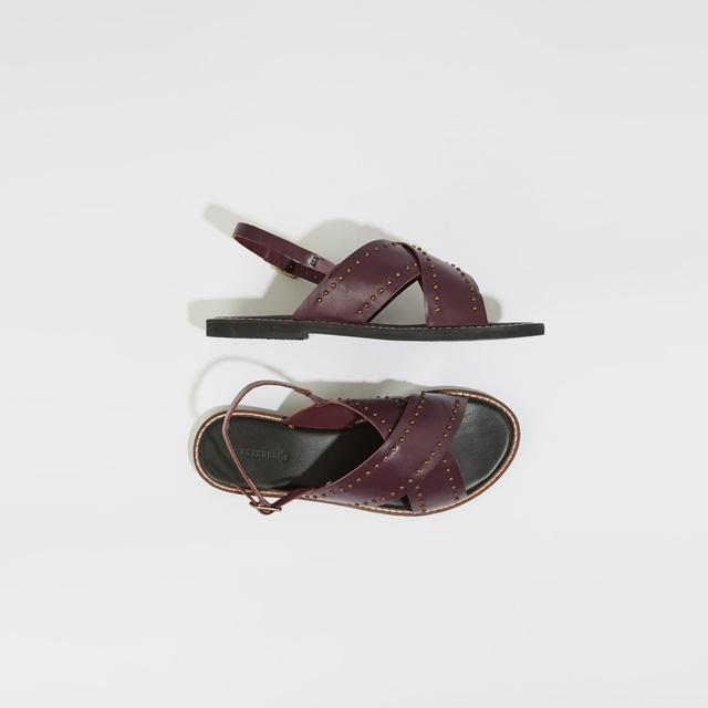 d80d66c59b5d Studded Crossover Sandals