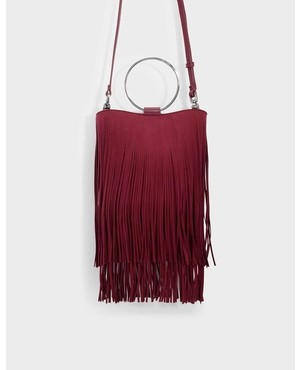 Fringe Detail Bag By Charles Keith