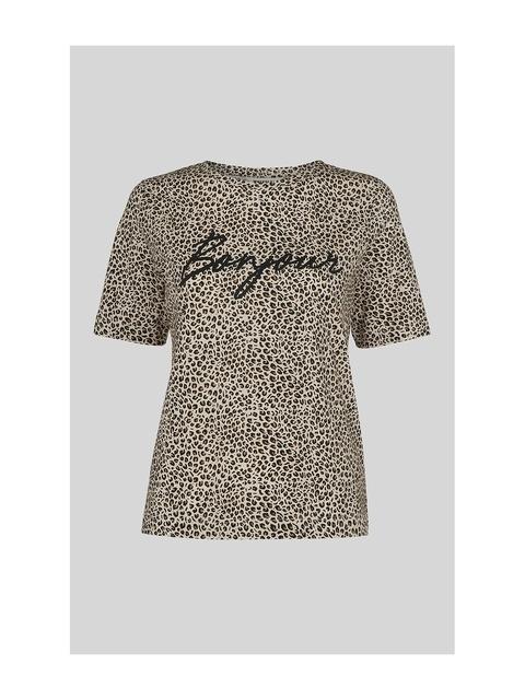 05d2c03f70c8d Bonjour Mini Leopard Logo Tee   Endource