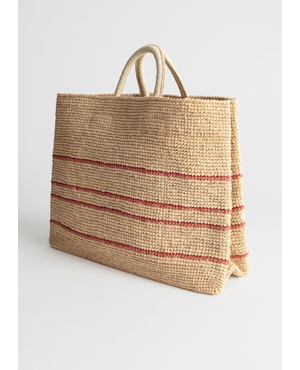 066ac2f31 Large Woven Straw Tote by & Other Stories
