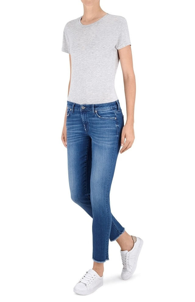 Pyper cropped jeans 7 For All Mankind 7vSeHSroD6