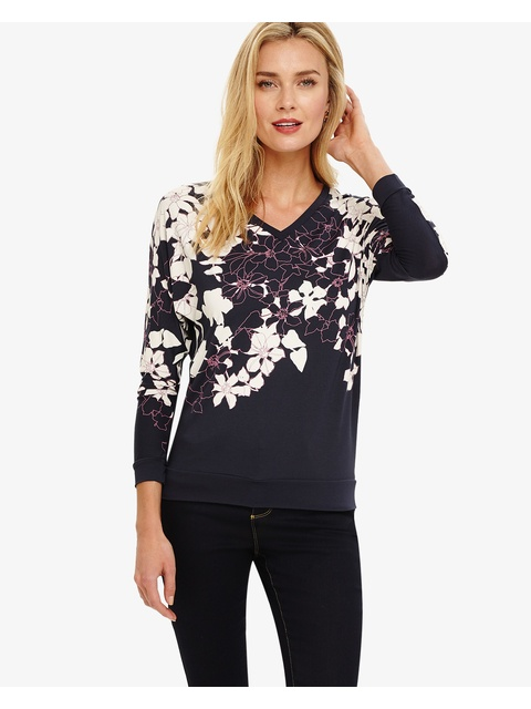 bd4df06009404f Bethal Floral Printed Top | Endource